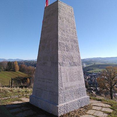 Soldatendenkmal - wunderbarer Aussichtspunkt!