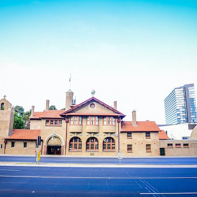 The recently renovated heritage-listed Mission to Seafarers building