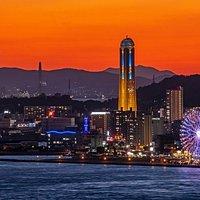 下関市街の夜景