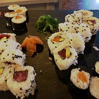 Sushi increíble...