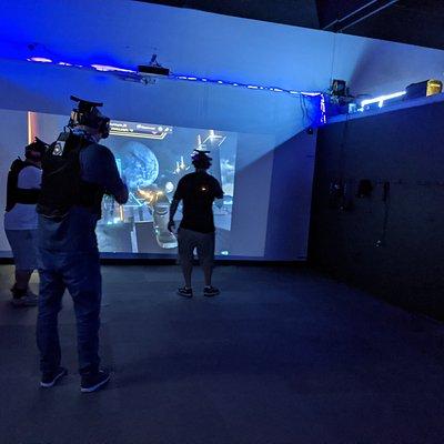 Free Roam Arena VR