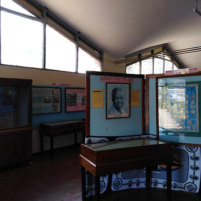 Main exhibition inside the Arusha Declaration Museum