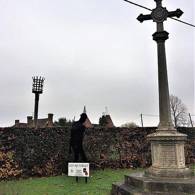 5.  Frittenden War Memorial, Frittenden, Kent
