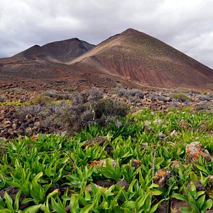La Caldera de Gairia è uno dei  simboli di Fuerteventura la più antica dell'arcipelago. ( attilio001@hotmail.com )