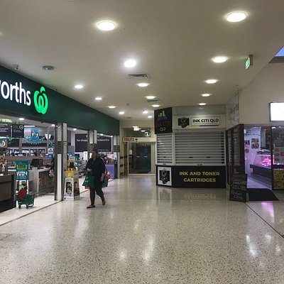 Woolworths & Ink Citi Qld best accessible from the Chempro Entrance