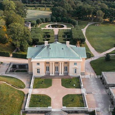 Slottet från ovan.