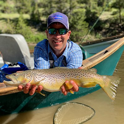 Catching the big ones on the Smith River, Montana - one guided launch per year!