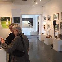 Some images of previous open studios around newbury.