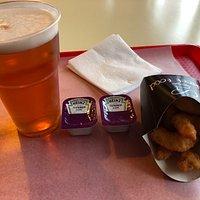 Пиво и креветки - замечательно!!!