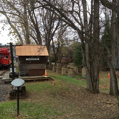 Warrenton Branch Greenway Caboose
