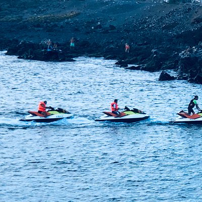 What you will get is a ULTRA EXCLUSIVE experience when you book our JET SKI Safari trips. Using up to 4 bikes at one time, you will have the best time among your group of friends or family only, with a dedicated licensed monitor, to guide your safety at all times. While having this trip with us, we will make sure we keep your group small, away from the crowds, so we make sure nothing and NOBODY disturbs your exclusive great time, and all the info that our monitor provides will be FOR YOU ONLY.