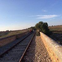 L'antico ponte della ferrovia sul Canale d'Aiedda