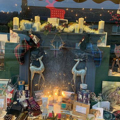 Christmas Windows and some of our new products.