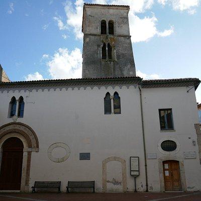 L'ex convento di S. Maria delle monache col campanile