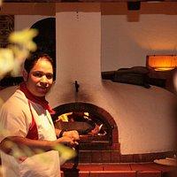 Unser italienischer Koch