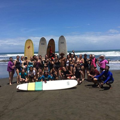 Our surf school can accommodate a group of any size.
