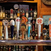 With 12 beers on tap, we always have cold beer ready for you.