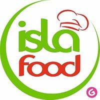 Islafood ISLA en espagnole qui veut dire île FOOD en anglais  qui veut dire repas