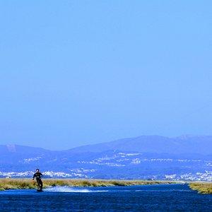 The kitesurf paradise...
