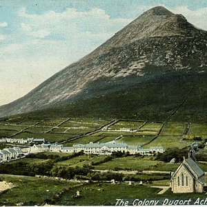 A view of the historic Colony  from the 1860s not long after the Famine.