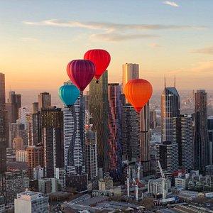 Melbourne hot air balloons
