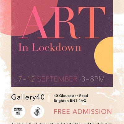The art in lockdown exhibition