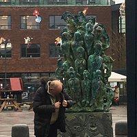 Den sjove statue