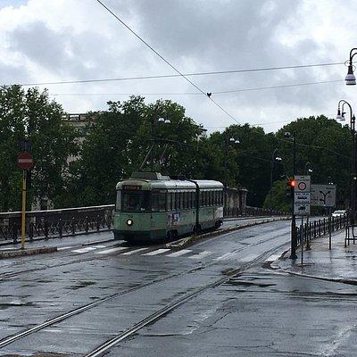 día lluvioso en Roma