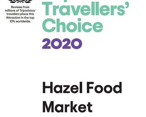 Once again Hazel food market does it in style.