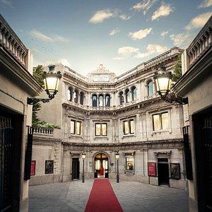 Entrada principal Museo de Cera de Barcelona