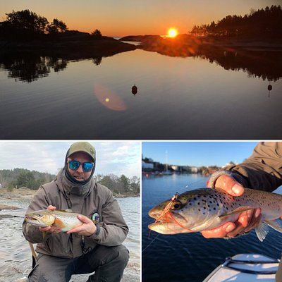 Discover the south of Norway with a fishingrod