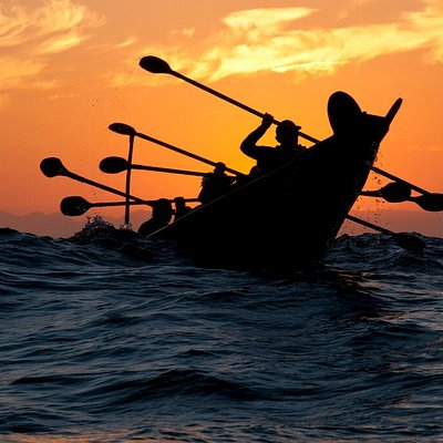 The native Chumash people of the Channel Islands celebrate their heritage by journeying through the channel in canoes called tomols.