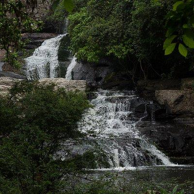 A cascata e suas tres quedas.