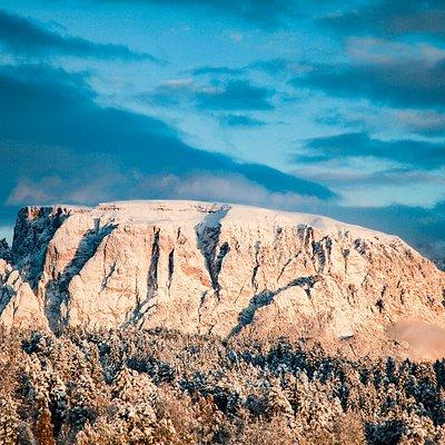 Winter am Ritten Inverno sul Renon Winter at Ritten-Renon