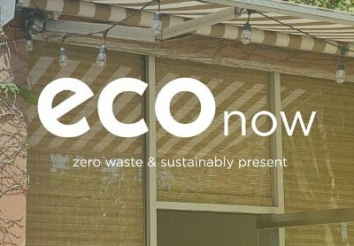 Eco Now! Zero waste and sustainably present.