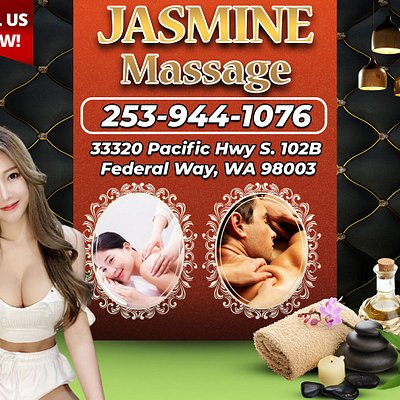 Jasmine Massage, is an asian massage spa designed to help you reduce stress, relieve build up chronic pain, and increase the overall quality of your life! We specialize in multiple affordable, customized treatments to meet the needs of a wide variety of clients in a peaceful setting! We are proud to be providing Authentic Asian Massage therapy services in our beloved community of Federal Way, WA!