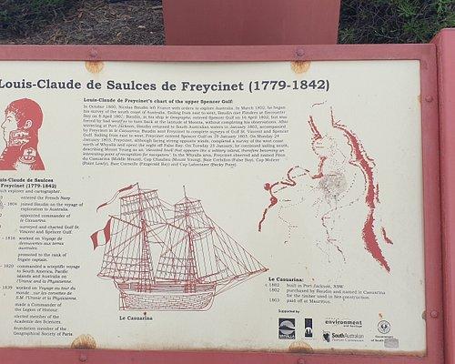 Flinders & Freycinet Lookout SA  Freycinet information