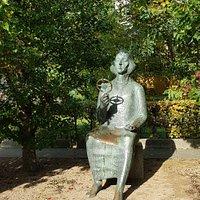 Франкфурт-на-Одере, памятник Николаю Копернику (октябрь 2020 года)