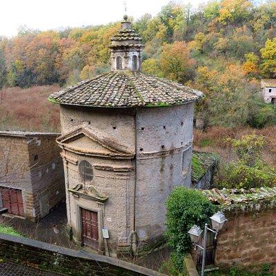 Vista esterna della chiesetta
