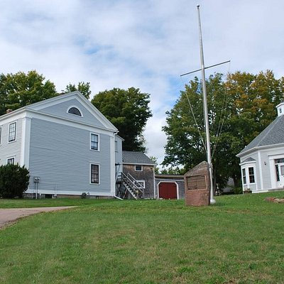 The Boultenhouse Heritage Centre consists of three historic houses in Sackville, NB.