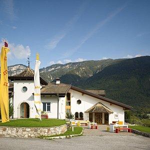 Foto esterna dell'azienda Mieli Thun in Trentino