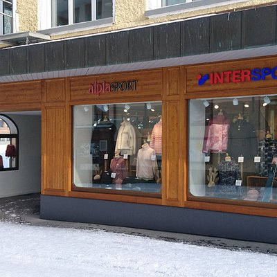Visit our shop in Wengen