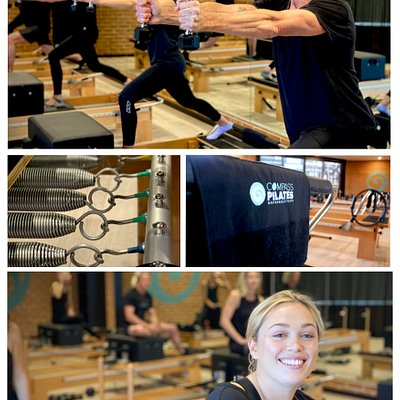 Great Reformers to do your {Pilates on at Compass Pilates, a new studio on The Central Coast.