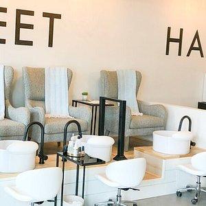 Pedicure and Manicure area