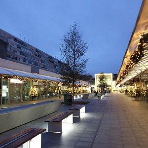 The Brunswick Centre, Bloomsbury - December 2020