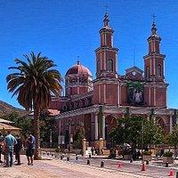 Iglesia grande de Andacollo