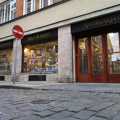 Kant Bookshop, Antikvariat with old and second-hand books, Opatovicka 26, Prague 1