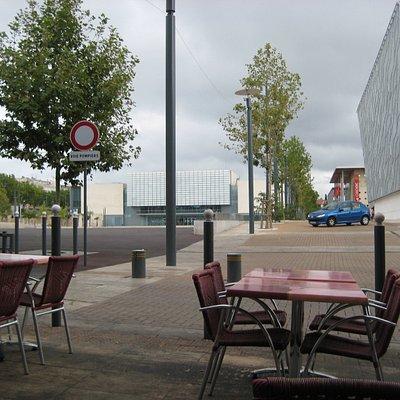 Béziers, Médiathèque André Malraux