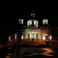 Спасский кафедральный Собор вечером