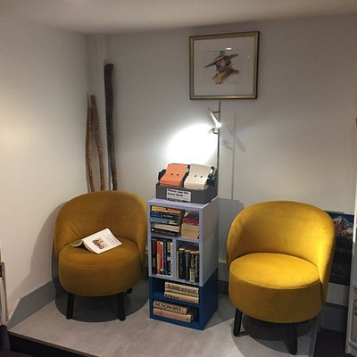 Stop by and relax and read for a few minutes.